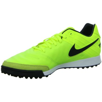 Nike Multinocken-SohleTiempoX Mystic V TF gelb