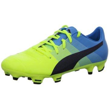 Puma Fußballschuh gelb