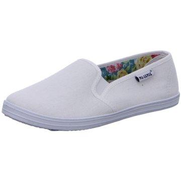 Hengst Footwear Sportlicher Slipper weiß