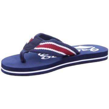 Hengst Footwear Bade-Zehentrenner blau