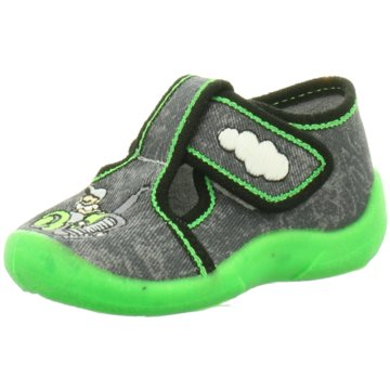 Fischer Schuhe HausschuhTraktor grau