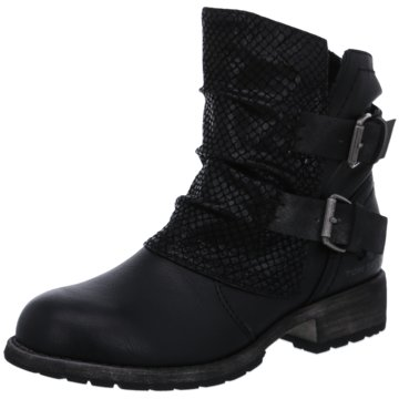 Tom Tailor Biker Boot schwarz