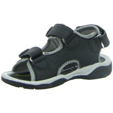 Quickly Sandale schwarz