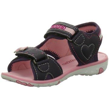Kappa Offene Schuhe schwarz
