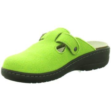 Longo Hausschuh grün