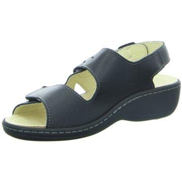 Longo Komfort Sandale schwarz