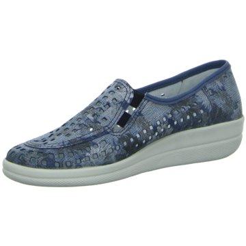 Longo Komfort Slipper blau