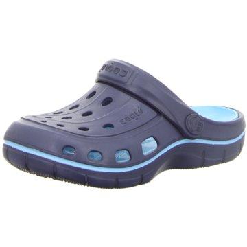 Coqui Offene Schuhe blau