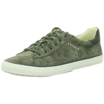 Esprit Sneaker Low oliv