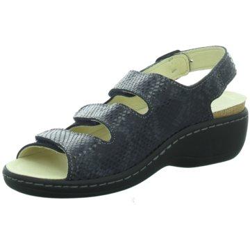 Longo Komfort Sandale blau