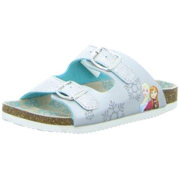 Disney Offene Schuhe silber