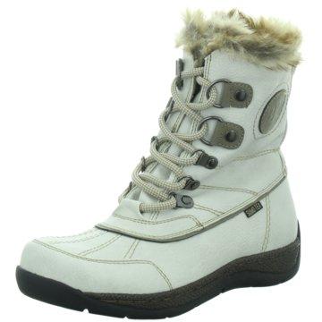BM Footwear Schnürboot weiß