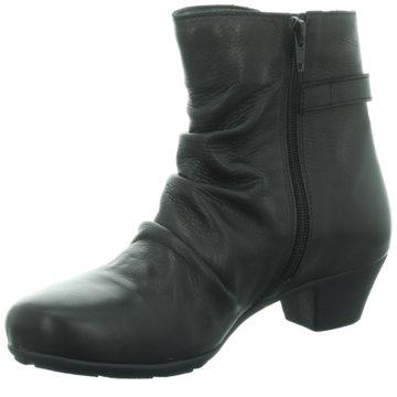 Longo Klassische Stiefelette schwarz