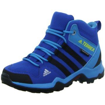 adidas Wander- & BergschuhTERREX AX2R MID CP K - BC0673 blau