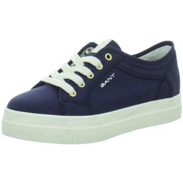 Gant Plateau Sneaker blau