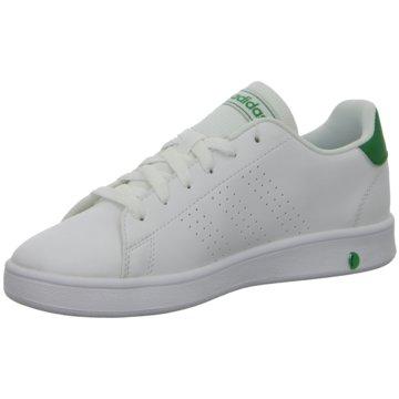 adidas Sneaker LowADVANTAGE K - EF0213 weiß