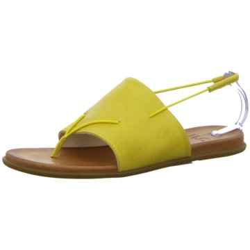 ILC ZehenstegsandaleLadies Sandal yellow gelb