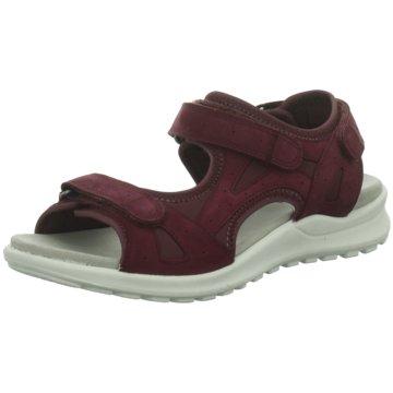 Superfit Komfort Sandale rot