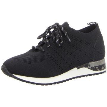 Pep Step Sportlicher Schnürschuh schwarz