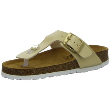 Longo Offene Schuhe gelb