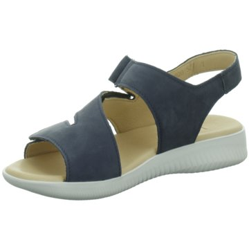 Legero Komfort Sandale blau