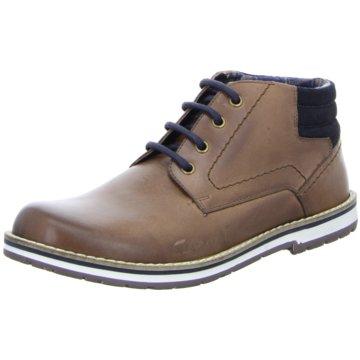 Montega Shoes & Boots Schnürstiefelette braun