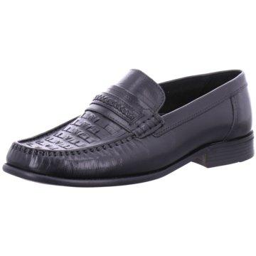Montega Shoes & Boots Business Mokassin schwarz