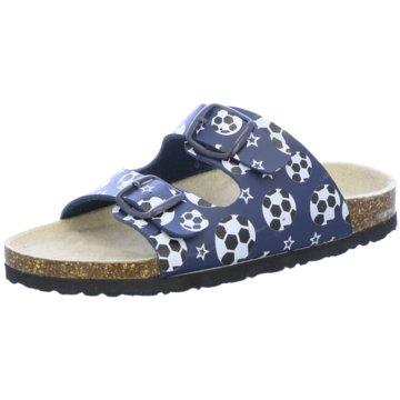 QUICK SCHUH Offene Schuhe blau