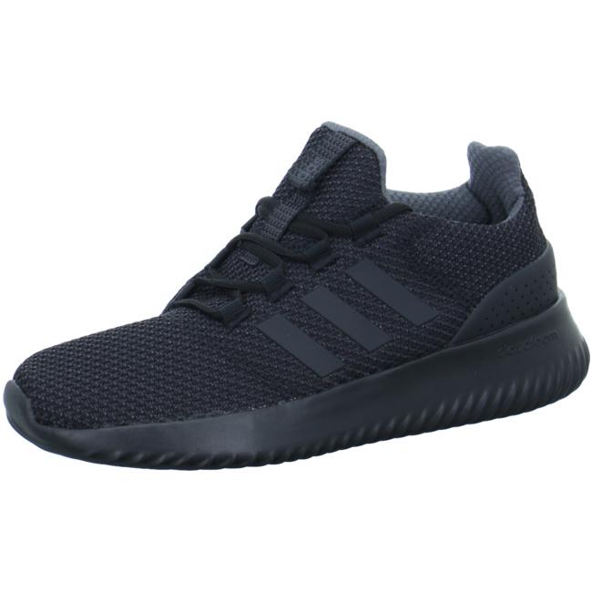 adidas herren sportschuhe schwarz cloudfoam
