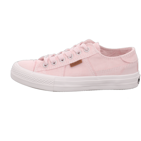 damen Dockers by Gerli Sneaker low rosaweiß