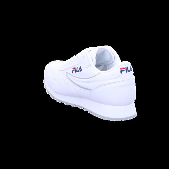Fila Damen Sneaker Orbit Low Sneaker 1010308-1FG weiß 425528