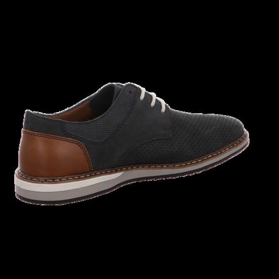 Rieker Herren Schnürschuh 16815 14 blau | Schuhe direkt vom Schuhhändler