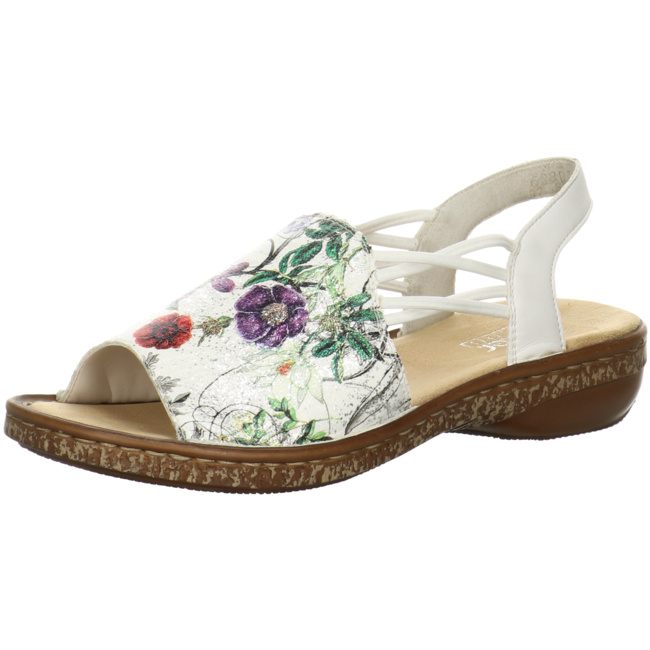 Rieker Damen Sandale multi 628D1 90