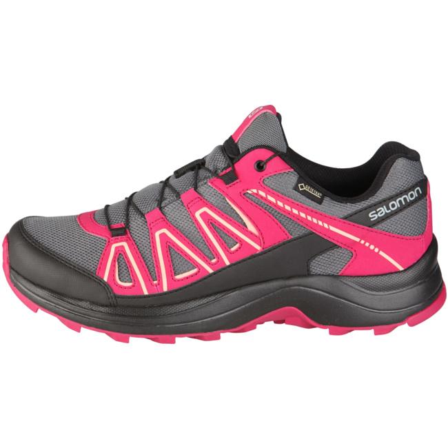 XA Centor Outdoorschuhe Damen Outdoorschuhe Centor Gore-Tex pink grau L39869300  von Salomon--Gutes Preis-Leistungs-, es lohnt sich 8b9e1c