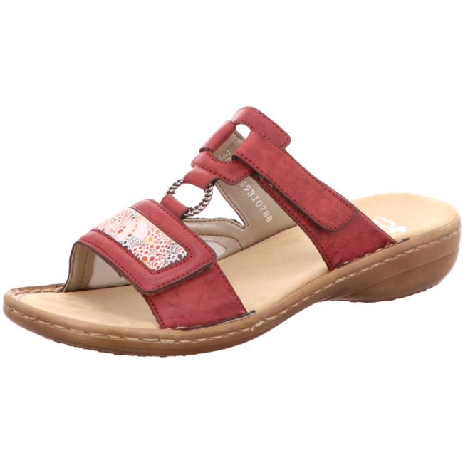 Rieker Damen 608n9 00 Pantoletten: : Schuhe