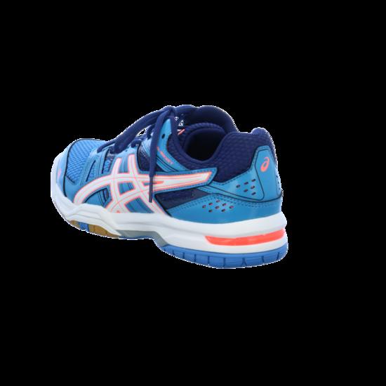 Asics Damen Gel Rocket 7 Volleyballschuhe, Blau (Blue Jewel