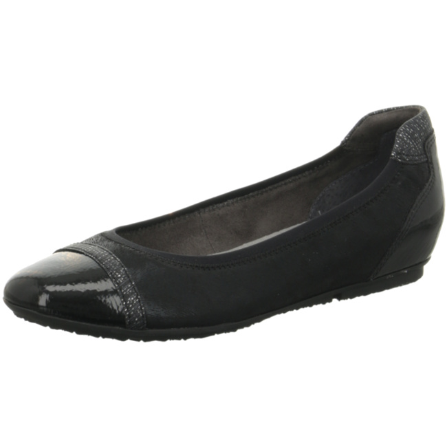 Tamaris Klassische Ballerinas schwarz Modell 1 Damen