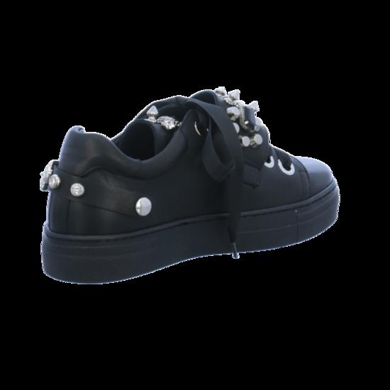 MIMMU Sneaker, mit Plateau, schwarz, schwarz