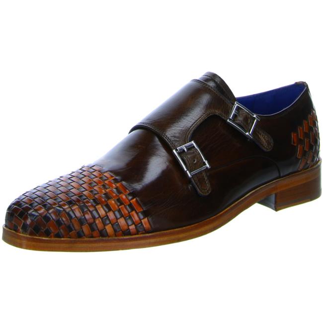 Melvin /& Hamilton Herren Schnürschuhe Halbschuhe Businessschuhe Schuhe braun