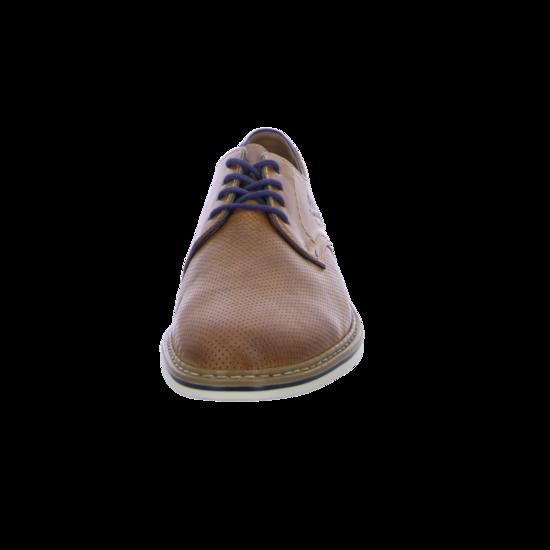 Rieker Herren Schnürschuhe, Halbschuhe B1428 Sneakers braun