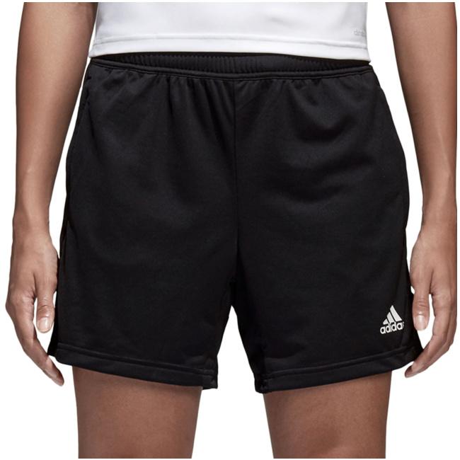 Damen Kurze Hose Damen Kurze Hose Adidas 3 Streifen Gym