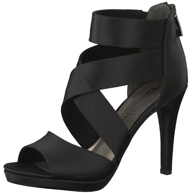 tamaris high heel sandalette schwarz stiletto